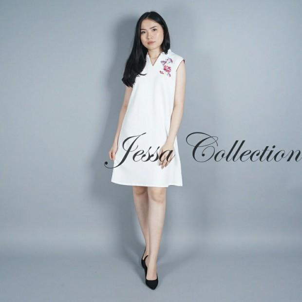 CNY Ashley Flower Dress