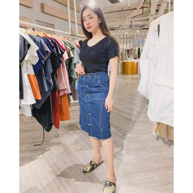 Donitta Button Overall