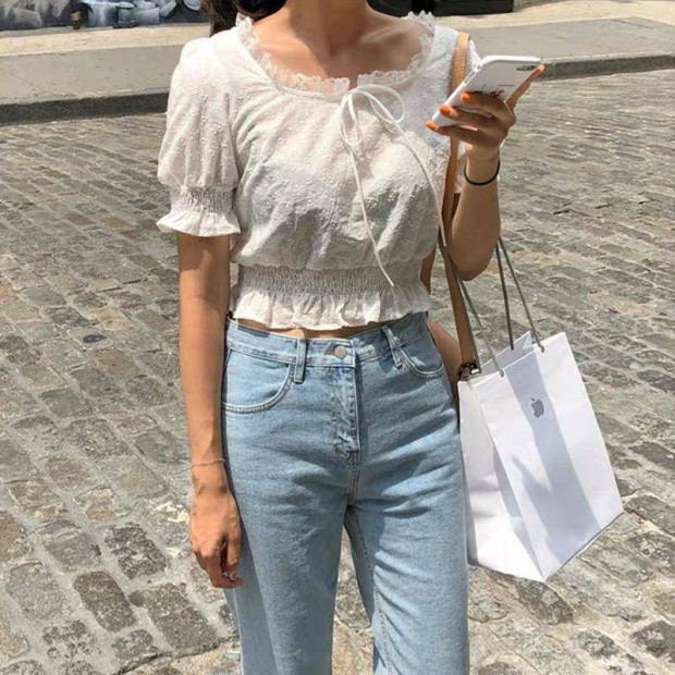Gorby Lace Top