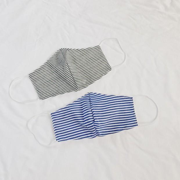 Masker Stripe