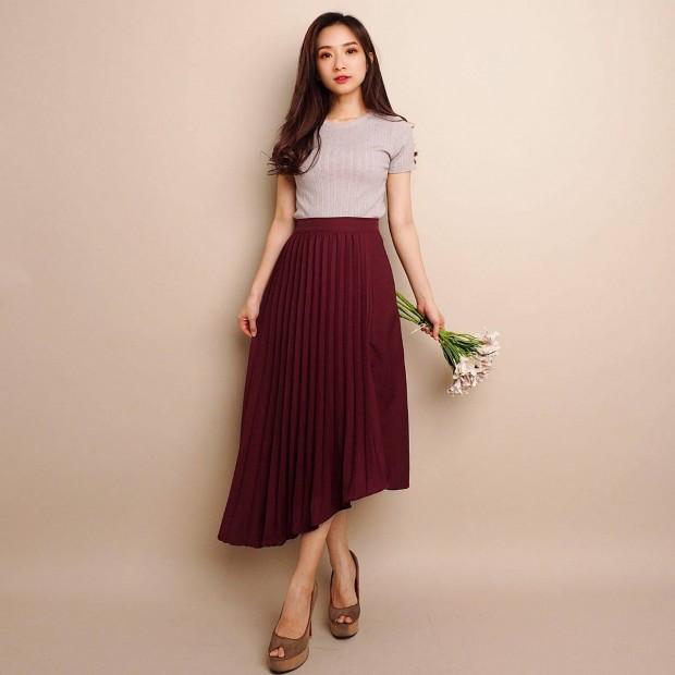 Norsita Pleated Skirt
