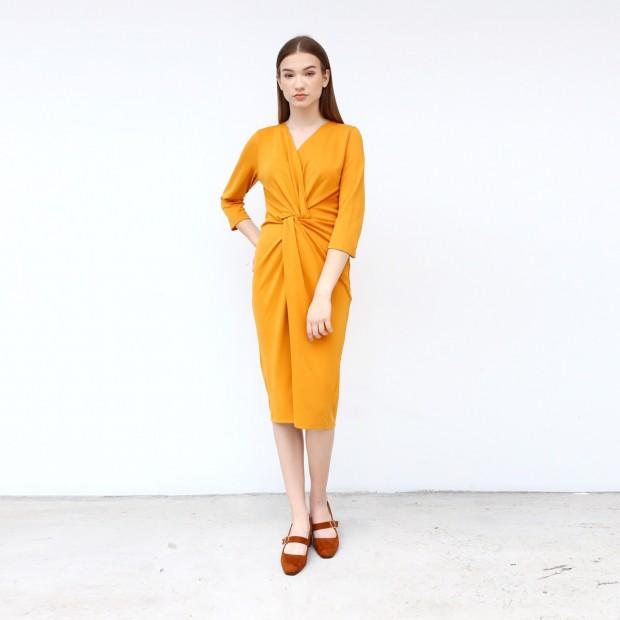 Oltine Wrap Dress
