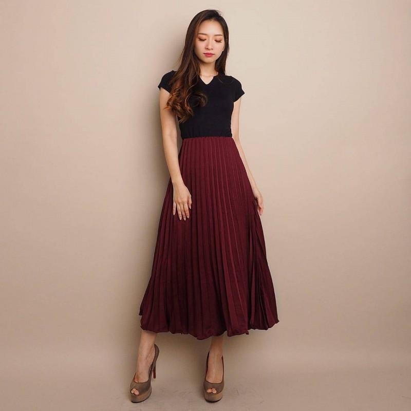 Pariska Pleated Skirt