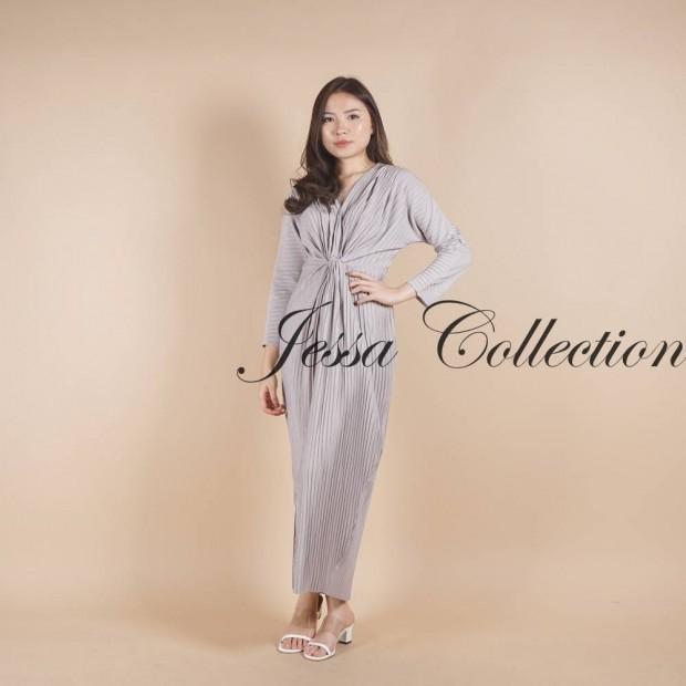 Premium Flanisa Wrap Dress
