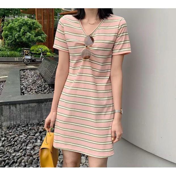 Yirra Stripe Dress